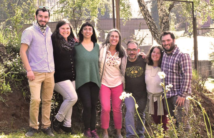 Nuestro equipo, socios y socias de Cooperativa Calahuala